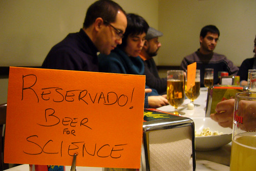 Beer for Science Forum Barcelona II (09/02/2012)
