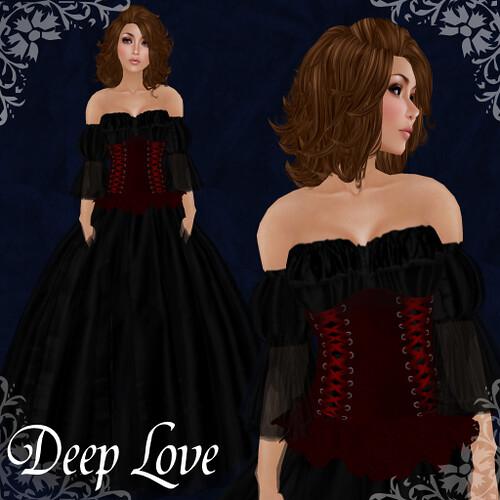 Brianna - Deep Love - Valentine Gown 2012