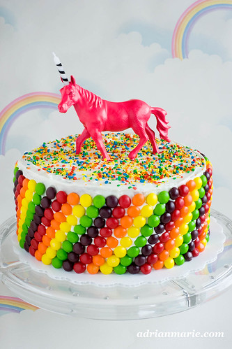 redheaded ramblings Unicorn Birthday Cake