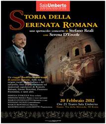 STORIA DELLA SERENATA ROMANA by cristiana.piraino