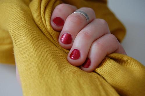 my nails feel like ruby slippers!