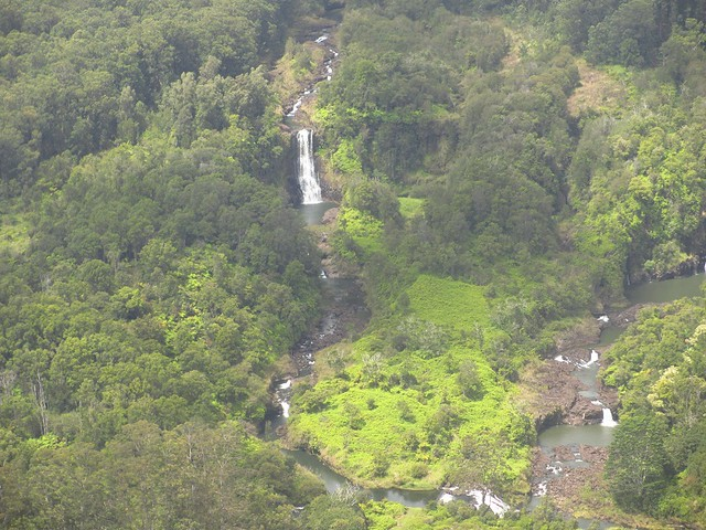 Waterfalls near Hilo