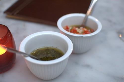 Chimichurri & salsa