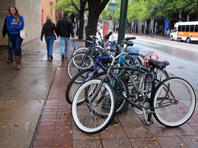 SXSW Bike Parking