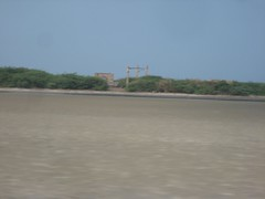 Ruined Dhanushkodi railway station