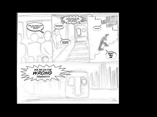 train comics