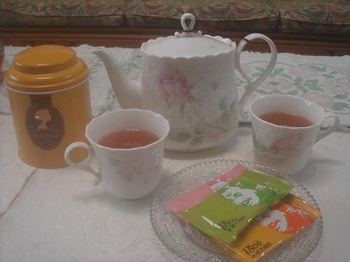 下午茶_Lady Brtrix 老楊方塊酥1
