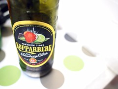 Kopparberg Premium Cider with Strawberry & Lime