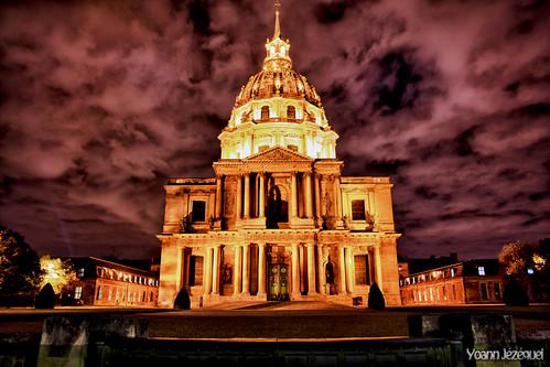 Paris - Saint-Louis Chapel (the Invalids) - La chapelle Saint-Louis des Invalides, France by Zeeyolq Photography