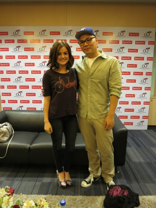 Lucy Hale and Kevin Ching