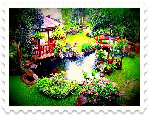 tropical-garden-with-gazebo by KleiwT