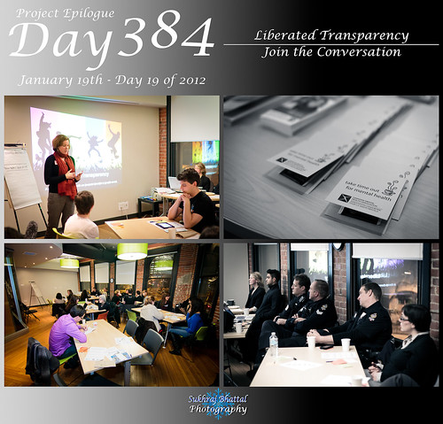 Day 384 - Liberated Transparency: Join the Conversation