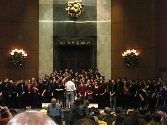 Kol HaOlam National Collegiate Jewish A Capella Competition Returns to Adas Israel