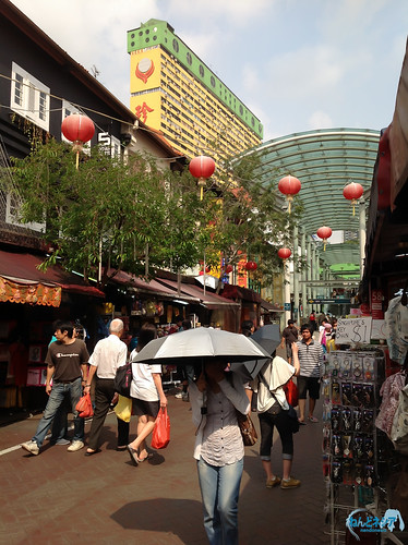 Gift shops at China Town area