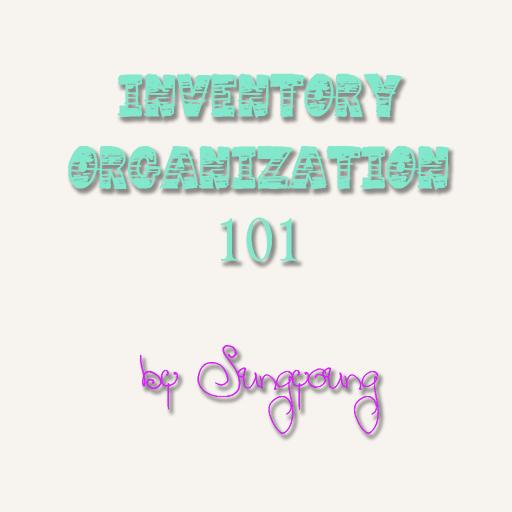 Inventory Organization 101