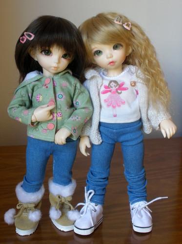 Izzy and Bee - New Looks!