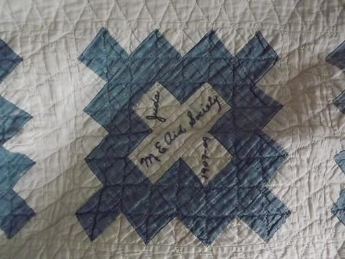 100 Year Old Signature Quilt