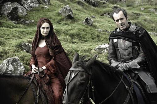 Mellisandre y Stannis Baratheon