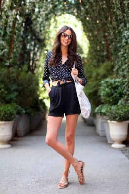 fashion polka dots
