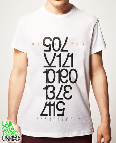 white t-shirt  by laboratoriounico