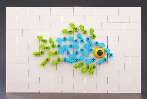 Fish Mosaic by Legohaulic