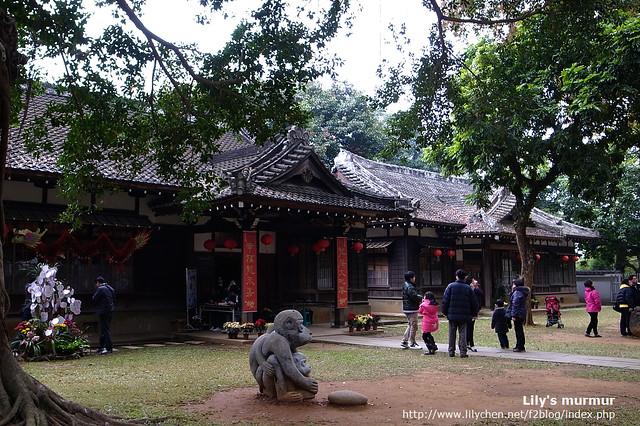 嘉義史蹟資料館,前身是嘉義神社的社務所及齋館。