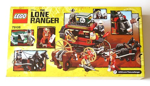 The Lone Ranger 79108 Stagecoach Escape box02