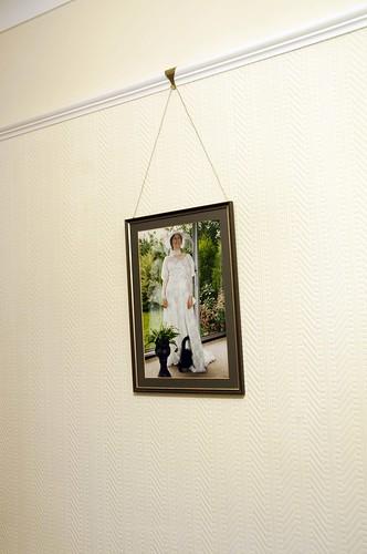 Nana: Susan in her wedding dress
