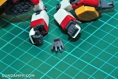 MG 1-100 Gundam HeavyArms EW Unboxing OOTB Review (29)