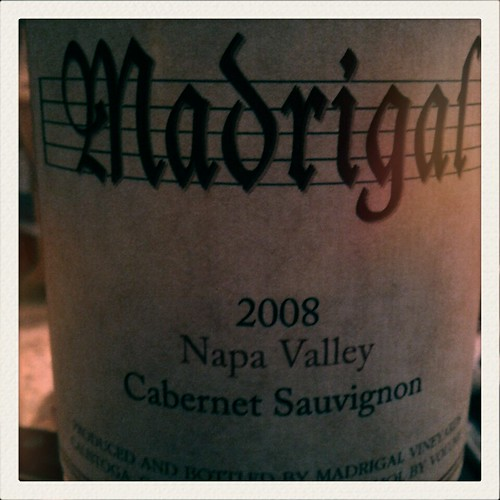 Madrigal 2008 Cab