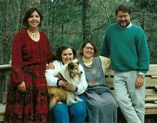 Mom with Skip, Nancy and Ginny