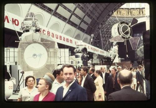 Venera 5 and Venera 2 Probes, Moscow, 1969