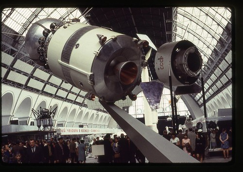Vostok Space Craft, Moscow, 1969