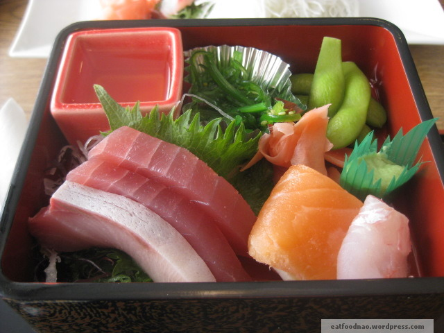 Top of Bara Chirashi Bento