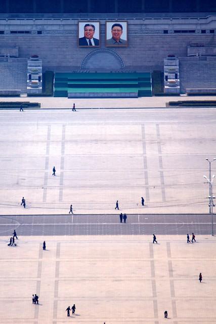 Kim Il-sung Square Pyongyang