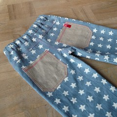 Starry pants - back