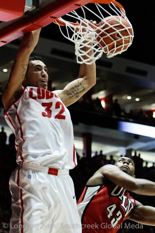 NCAA Basketball 2012- Feb 18- University of Nevada Las Vegas at New Mexico