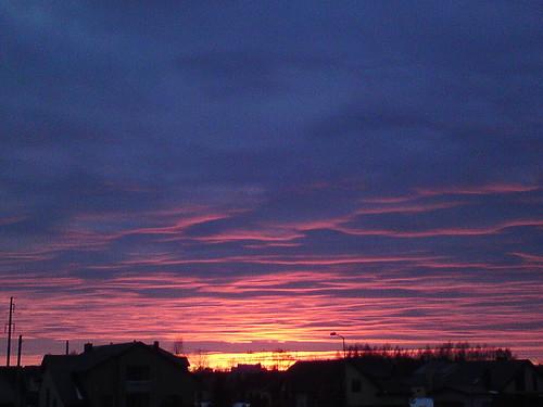 Last February evening by Caprittarius