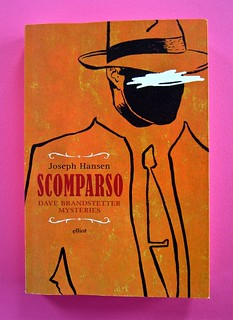 Joseph Hansen, Scomparso, elliot 2012. Cover design & illustration: IFIX. copertina. (part.), 1