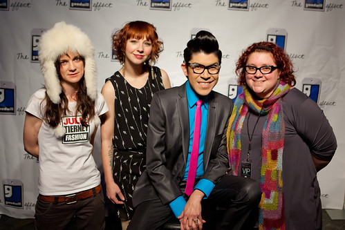 me and mondo, fallene, and julie