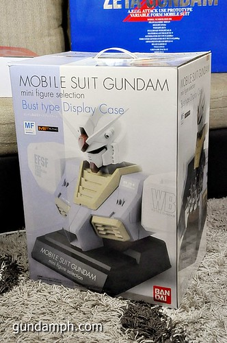 MSG RX-78-2 Bust Type Display Case (Mobile Suit Gundam) (1)