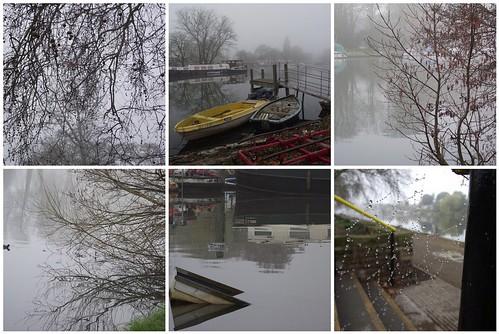 Foggy Thames Walk