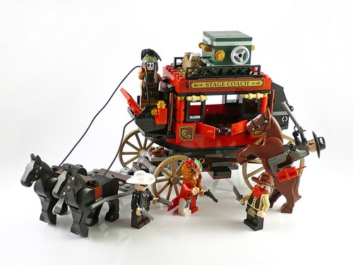 The Lone Ranger 79108 Stagecoach Escape 17