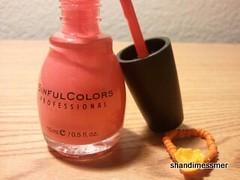 Walgreens Weekly Haul 03102012 Sinful Colors Professional Nail Enamel in 952 hazard swatch