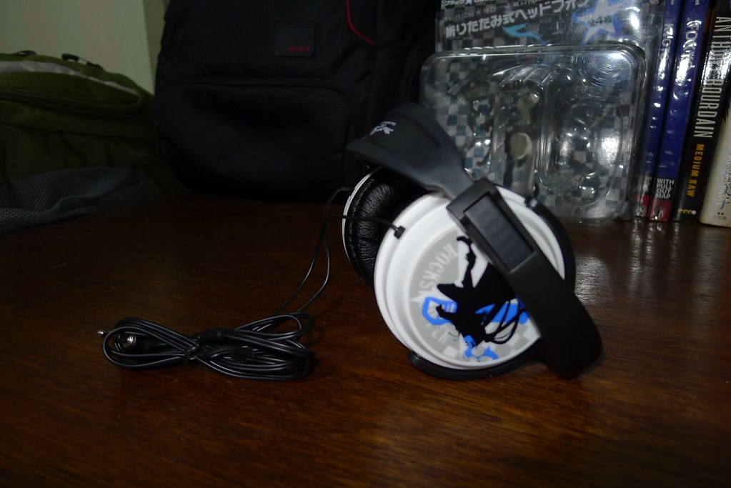 Deboxing: Banpresto Black Rock Shooter Headphones