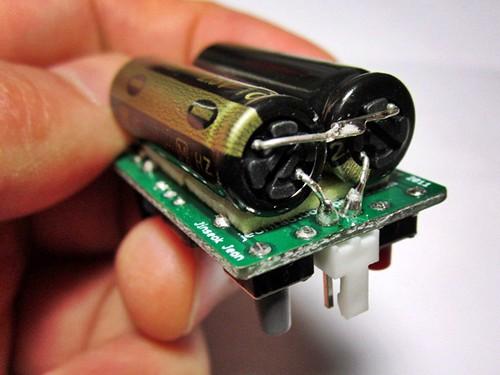 TV-B-Gone_JeonLab supercap soldered