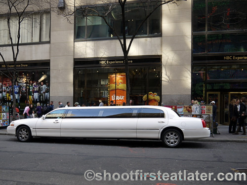 NYC super stretch limo