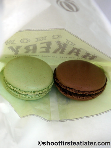Bouchon Bakery's macarons