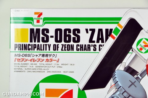 HG 1-144 Zaku 7 Eleven 2011 Limited Edition - Gundam PH  (9)