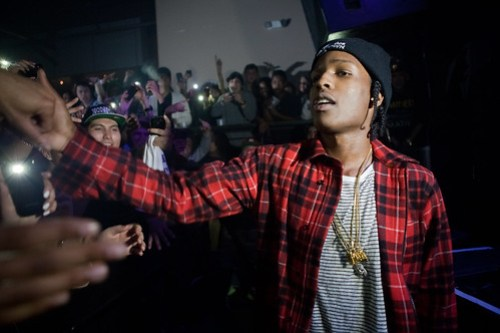 A$AP Rocky at Warehouse Live - 2/26/2012